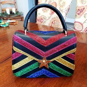 nwt multi color handbag